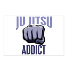 Ju Jitsu Addict Postcards (Package of 8)