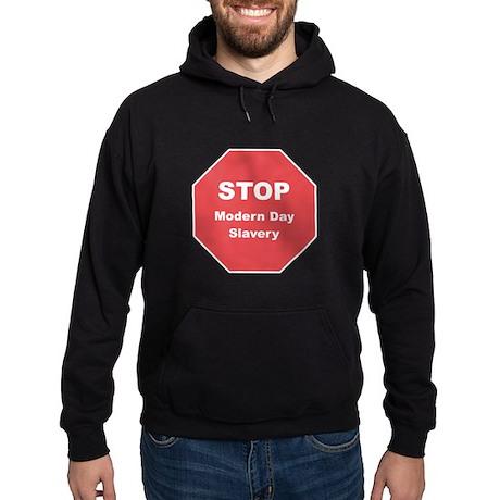 STOP Modern Day Slavery Hoodie (dark)