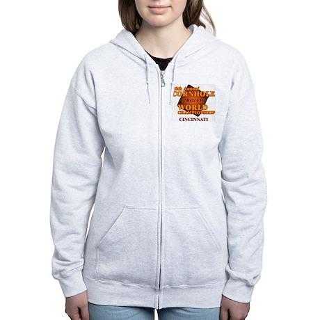 Cornhole Pro Am Women's Zip Hoodie
