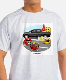 Tailgating Ash Grey T-Shirt
