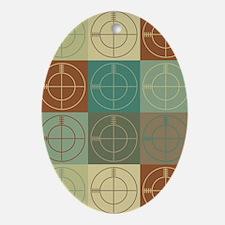 CounterStrike Pop Art Oval Ornament