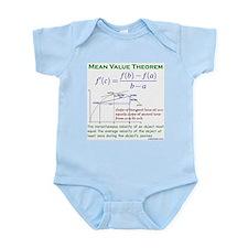Mean Value Theorem Infant Bodysuit