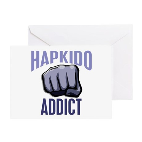 Hapkido Addict Greeting Card