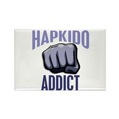Hapkido Addict Rectangle Magnet (100 pack)