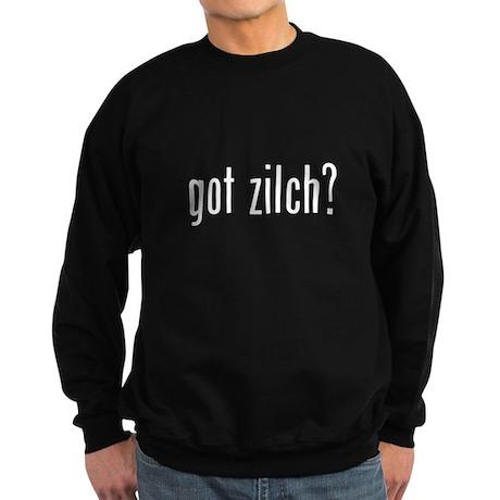 got zilch? Sweatshirt (dark)