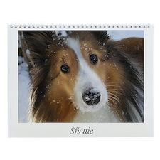 Sheltie Wall Calendar