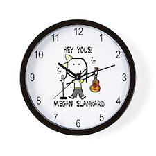 Megan Slankard Wall Clock