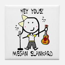Megan Slankard Tile Coaster
