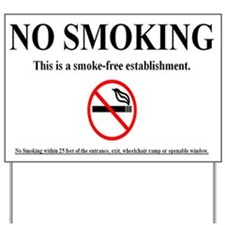 Smoking Stinx Yard Sign