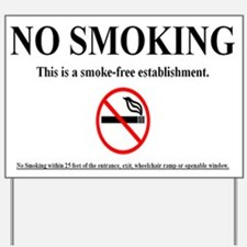 Smoking Stinx Yard Sign