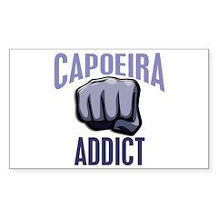 Capoeira Addict Rectangle Decal