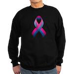 Bi Pride Ribbon Sweatshirt (dark)