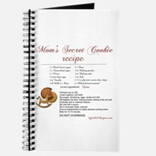 Moms Secret Cookie Recipe Journal