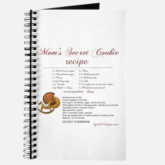 Moms Secret Cookie Recipe Journal