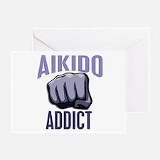 Aikido Addict Greeting Card