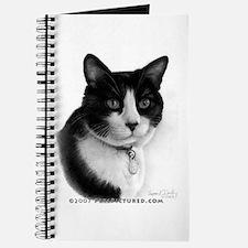 Tuxedo Cat Journal