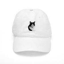 Tuxedo Cat Baseball Cap
