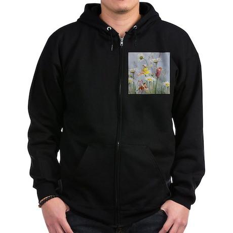 MOON DAISY FAIRIES Zip Hoodie (dark)
