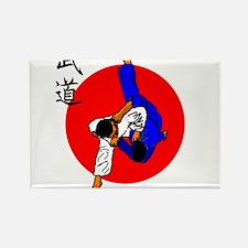 Judo Glory Rectangle Magnet
