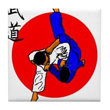 Judo Glory Tile Coaster