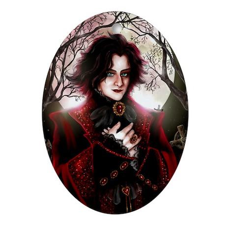 Moon Prince Oval Ornament