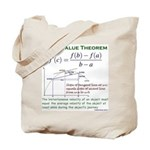 Mean Value Theorem Tote Bag