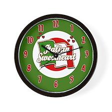 Italian Sweetheart/ Wall Clock