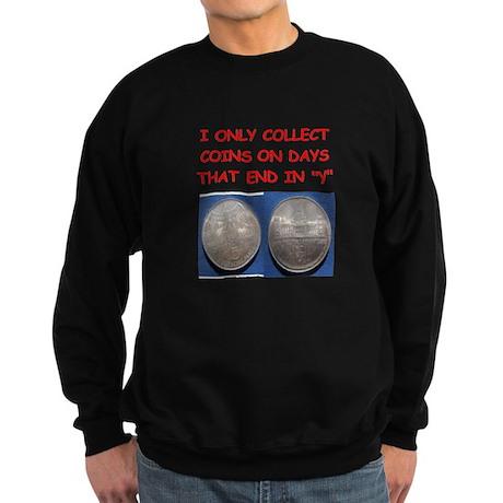 coin collector Sweatshirt (dark)