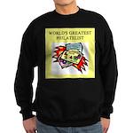 philatelist gifts t-shirts Sweatshirt (dark)