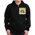 philatelist gifts t-shirts Zip Hoodie (dark)