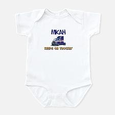 Micahdozer the Bulldozer Infant Bodysuit