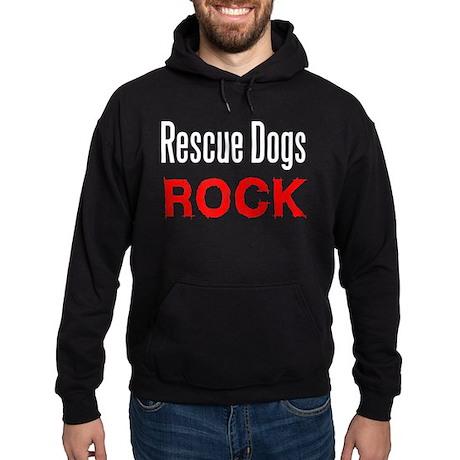 Rescue Dogs Rock Hoodie (dark)