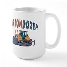 Carsondozer the Bulldozer Mug