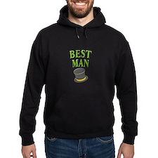 Best Man (hat) Hoodie