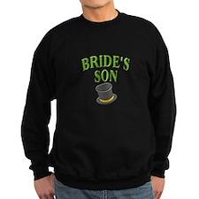 Bride's Son (hat) Sweatshirt