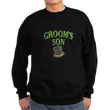 Groom's Son (hat) Sweatshirt