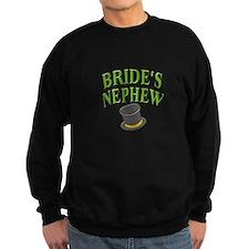 Bride's Nephew (hat) Sweatshirt