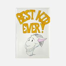 Best Kid Goat Ever Rectangle Magnet