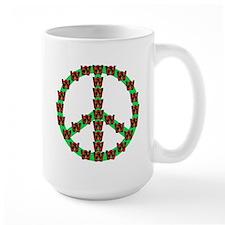 Peace without Dubya Bush Mug