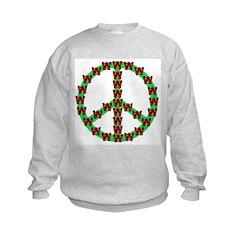 Peace without Dubya Bush (Front) Sweatshirt