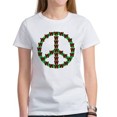 Peace without Dubya Bush Tee