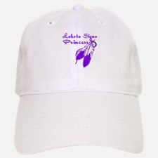 Purple Lakota Sioux Princess Baseball Baseball Cap
