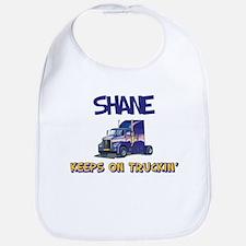 Shane Keeps on Truckin Bib