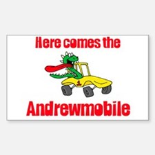 Andrewmobile Rectangle Decal