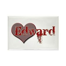 I Heart Twilight Movie Rectangle Magnet