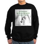 womens divorce joke Sweatshirt (dark)