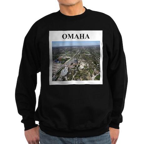 omaha gifts and t-shirts Sweatshirt (dark)