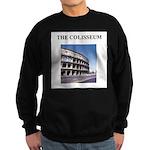 the colisseum rome italy gift Sweatshirt (dark)