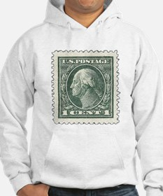 One Cent Stamp Hoodie