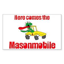 Masonmobile Rectangle Decal